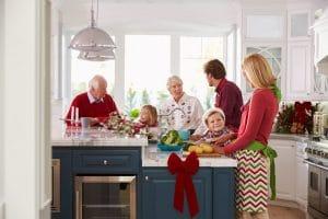 Kitchen Christmas Ready