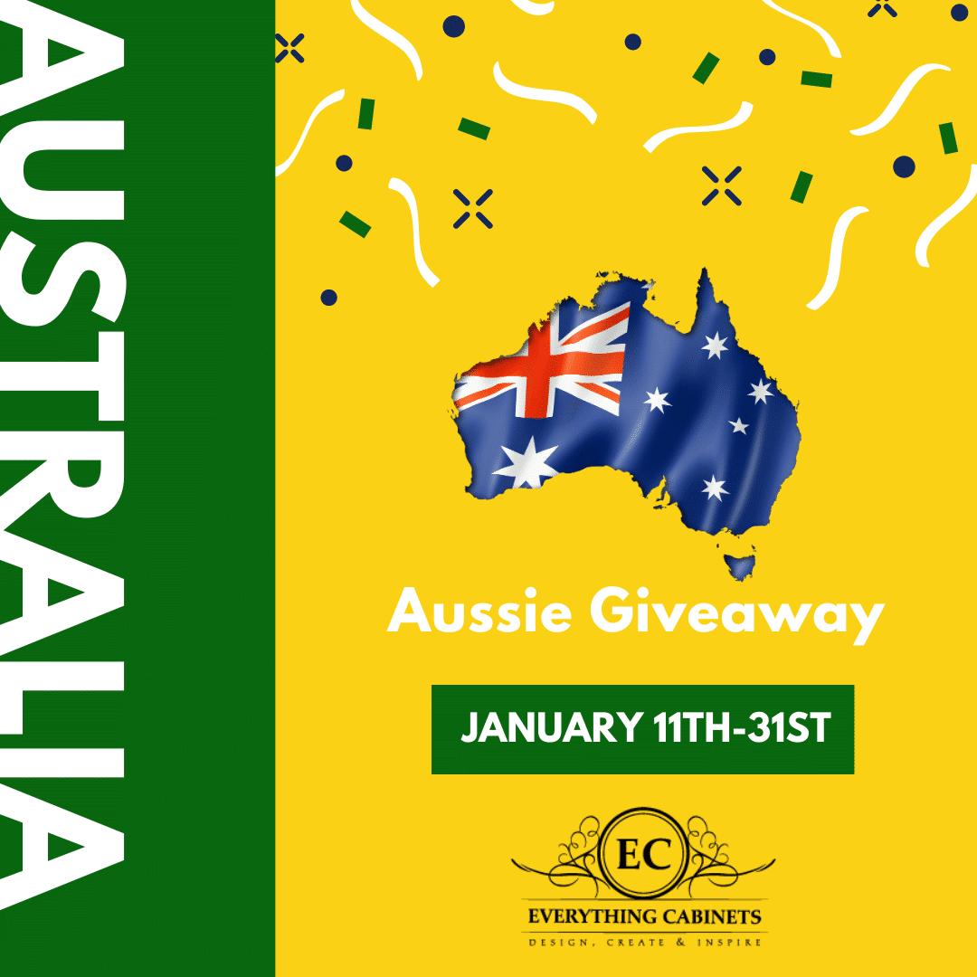 Aussie Day Giveaway