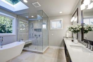 shower screens, bathroom, bathroom renovation, everything cabinets, bathroom
