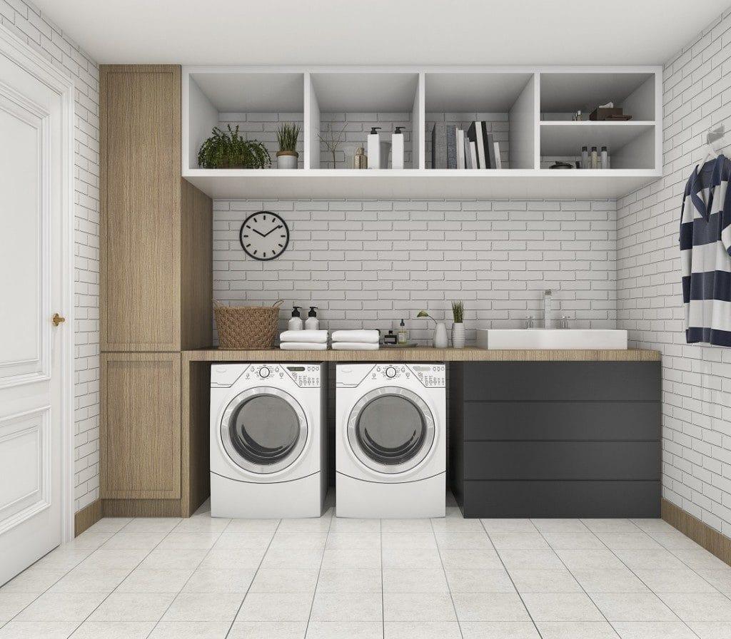 laundry, style, renovation