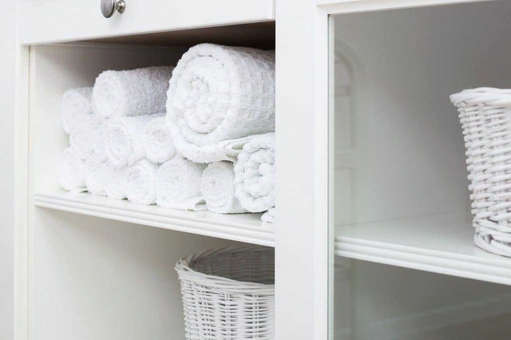 towels, laundry, hamper