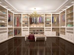 designing your walk in wardrobe